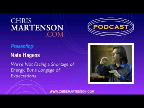 Nate Hagens: We're Not Facing a Shortage of Energy, But a Longage of Expectations
