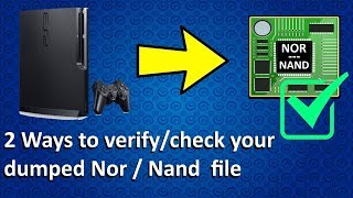 PS3 tutorial - Two ways to check & Verify your dumped Nor / Nand file! PS3dumpcheck or Python