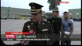 MIL CADETES DEL EP SON  CENSADORES - TV PERU