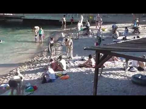 Балаклава. Мраморный пляж. Вечер 13 июня...