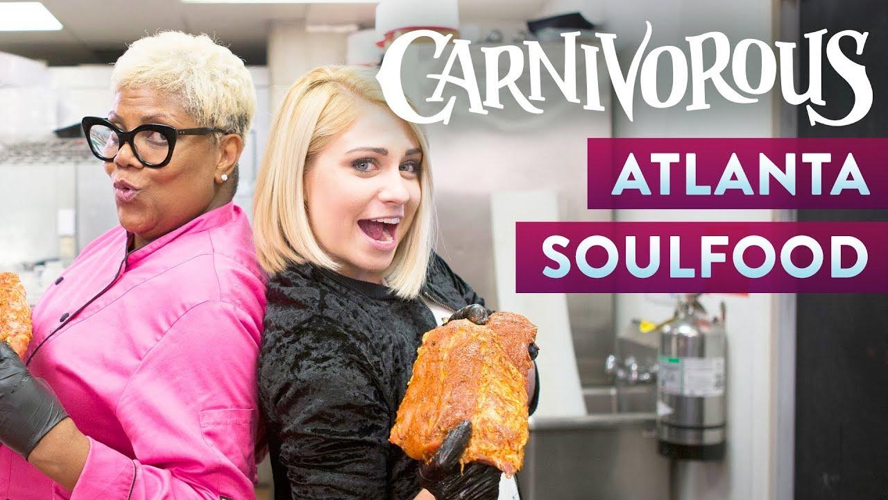 Soul Food In Atlanta Food Com Youtube