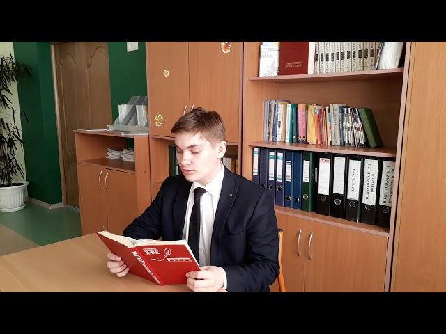 Изображение предпросмотра прочтения – ЭдуардСтудилко читает произведение «Город на Неве» А.И.Солженицына