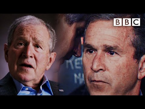 9/11: George Bush breaks down his very public initial reaction - BBC