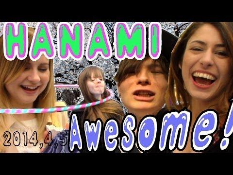 YouTube Hanami 2014 外人だらけの呑んべえお花見!富士山焼酎