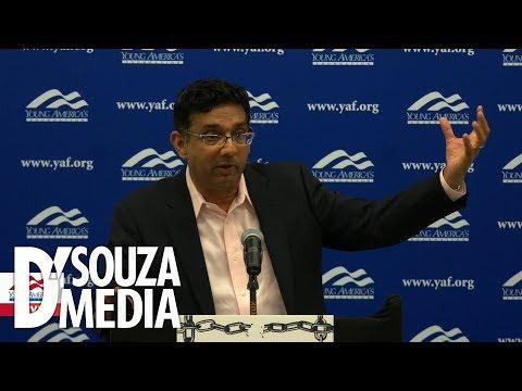 D'Souza educates leftist protestors at University of Florida