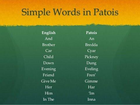 Little Jamaican Patwah (Patwa-Jamaican Creole).