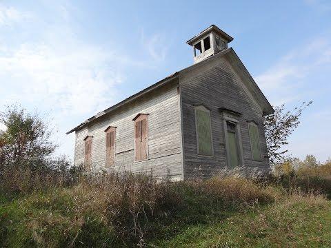 Abandoned One Room Schoolhouse