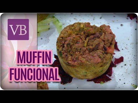 Muffin de Beterraba Funcional - Você Bonita (07/04/17)