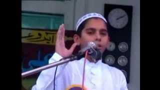 Abu bakr Umar Usman Ali . new beautiful Urdu Nazam by nanna sana khwan Hafiz Ahmad Qasmi