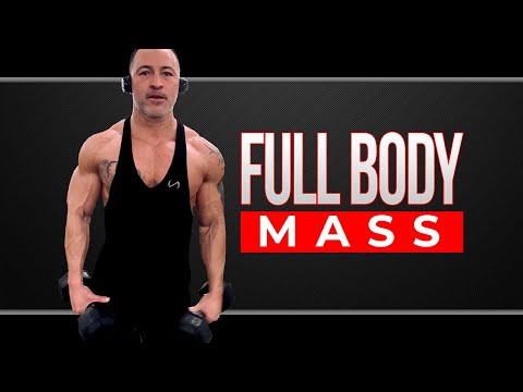 The Only 8 Dumbbell Exercises You Need to Build Mass ��️ (In order to Build Muscle Fast!)