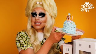 Trixie Bakes A Doll Cake In The Barbie Bake With Me Oven