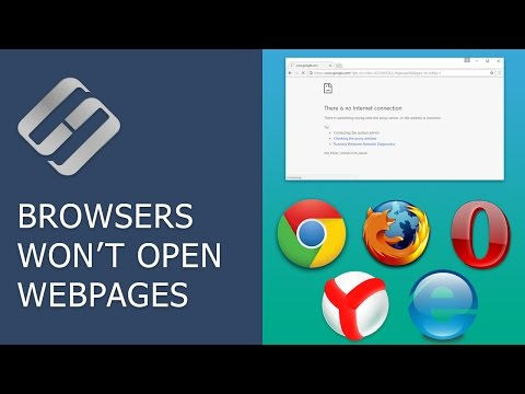 Internet Browsers Won't Open Webpages: How To Fix Proxy Server Errors 🌐🚫💻