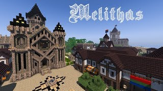 Minecraft] Medieval Fantasy Town: Melithas YouTube