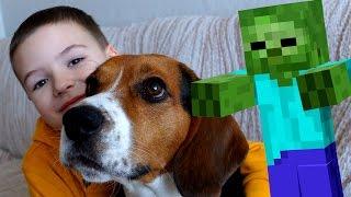 ВЛОГ Моя Собака, Магазин Игрушек, Лего Ниндзяго, Майнкрафт - Видео для Детей
