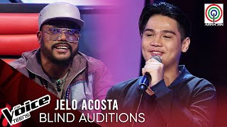 Jelo Acosta - Nadarang | Blind Audition | The Voice Teens Philippines 2020