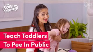 How To Teach A Toddler How To Pee In Public   Momsplained   Scary Mommy