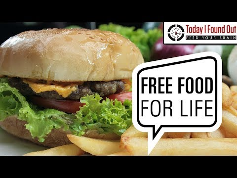 Does McDonald's or Burger King Really Hand Out Cards Granting You Free Food For Life?