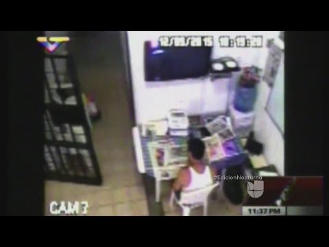 La celda en la que cumple sentencia Leopoldo López