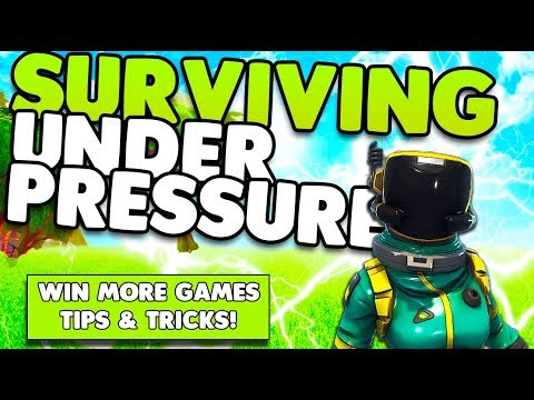 Surviving Under Pressure & Win More Games | In-Depth Guide Tips & Tricks | Fortnite Battle Royale