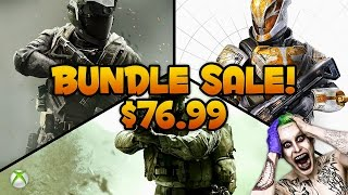 Destiny: The Collection + COD Infinite Warfare & Modern Warfare Remastered BUNDLE on SALE for $76.99