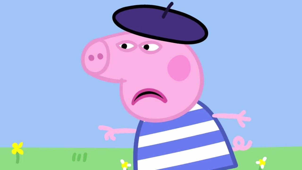 peppa pig english episodes back to school compilation 2 peppapig