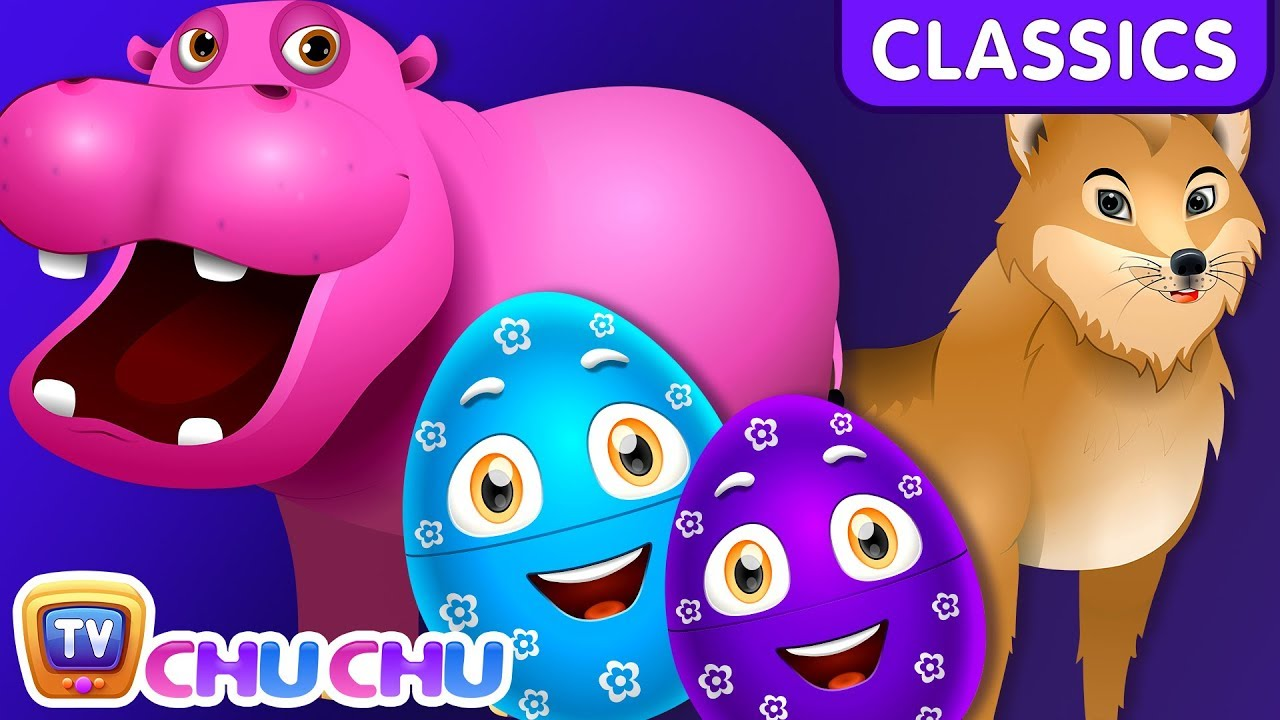 Download ChuChu TV Classics - Learn Wild Animals & Animal Sounds | Surprise Eggs Wildlife Toys