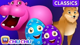 ChuChu TV Classics - Learn Wild Animals & Animal Sounds | Surprise Eggs Wildlife Toys