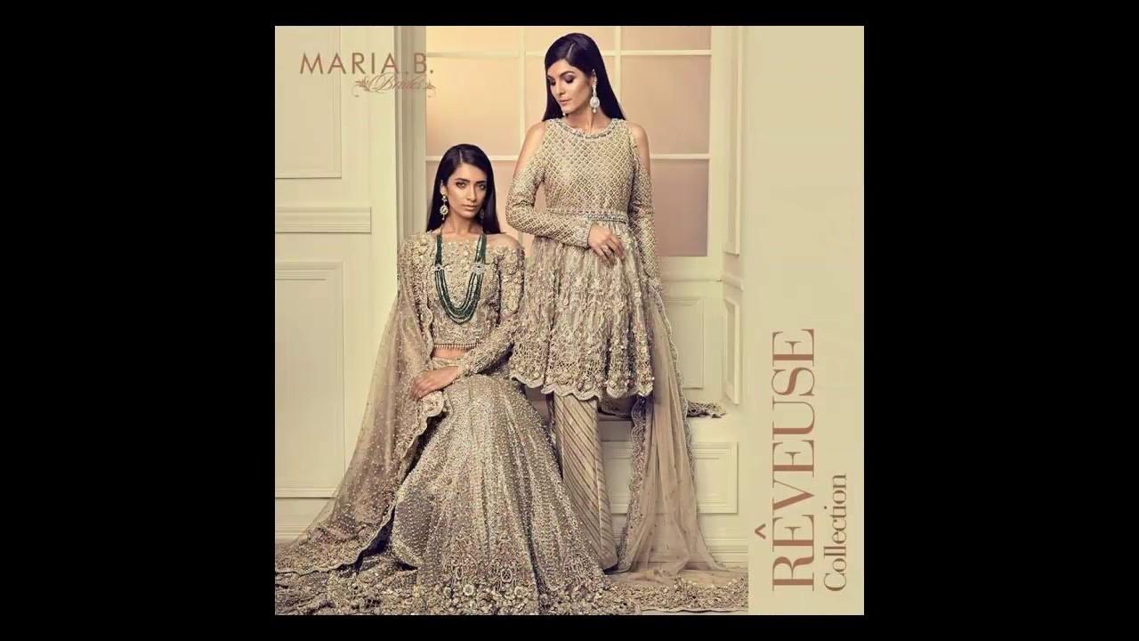 7a98dd2fee Maria B Bridal Formal Wear Collection 2018 - YouTube