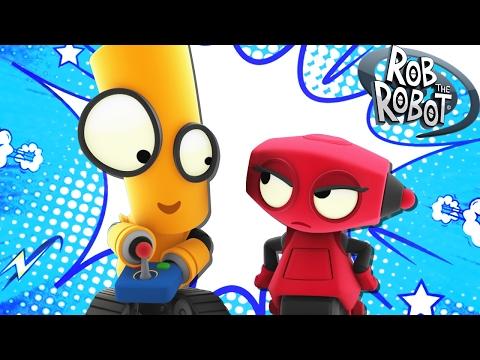 Cartoon | Be A Good Sport | Cartoons For Children | Rob The Robot