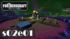FortressCraft Evolved - Staffel 2 [Let's Play Gameplay Deutsch German]