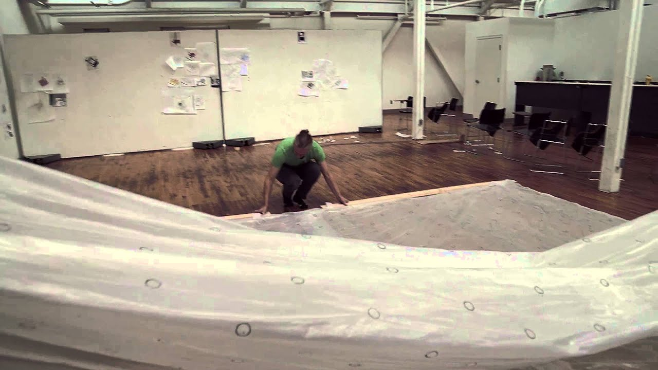 Inflatable Concrete The Garage Domestic Revolution Inflatable Architecture Youtube