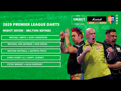 Premier League Darts 2020 Night Seven Preview & Predictions: Can Duzza retain top spot in MK?