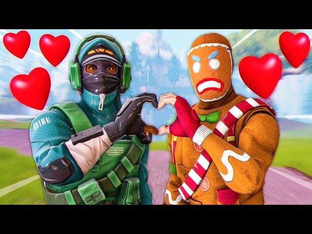 LAZARBEAM & FRESH spread love across Fortnite! | mrfreshasian