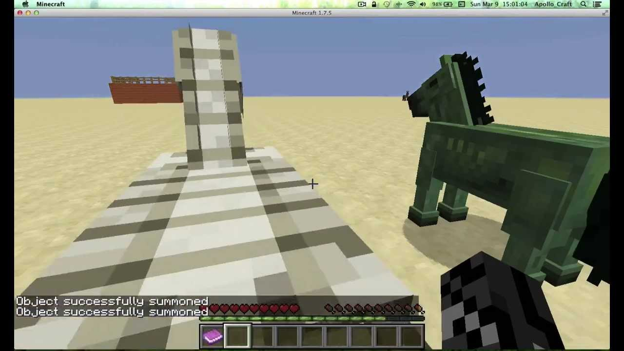 Minecraft how get a tamed skeleton horse and a tamed zombie horse