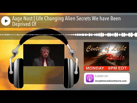 Aage Nost | Life Changing Alien Secrets We have Been Deprived Of