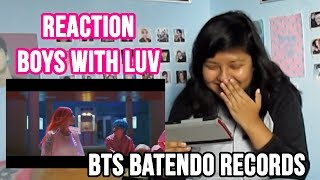 BTS- Boy With Luv feat. Halsey MV REACTION | Sofredora K-popper