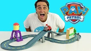 Paw Patrol Marshall's Town Rescue Track Set ! || Toy Review || Konas2002