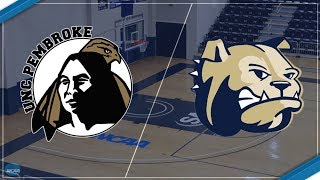 2017-18 Wingate Women's Basketball Vs. UNC Pembroke Braves