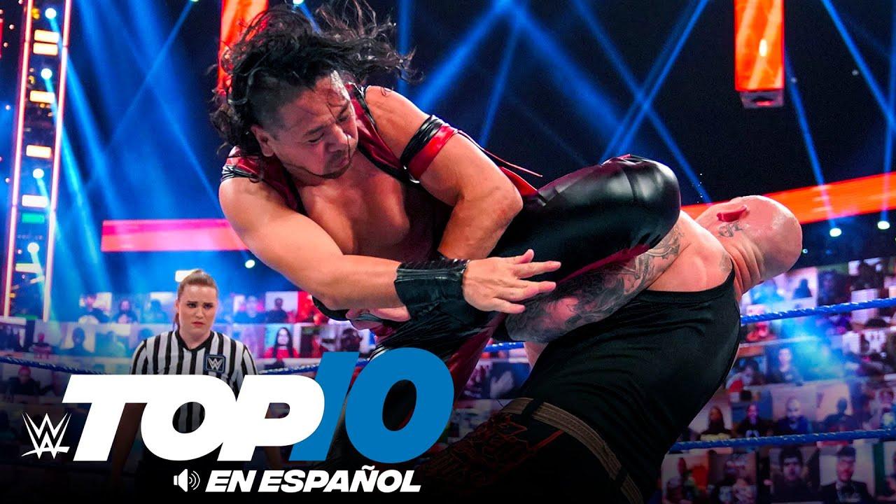 Top 10 Mejores Momentos de SMACKDOWN: WWE Top 10, Jun 18, 2021