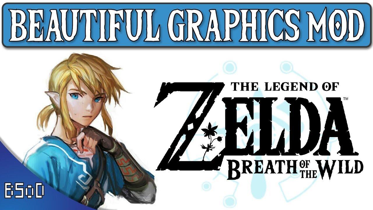 Breath of the Wild | Beautiful Graphics Mod | Monochromia