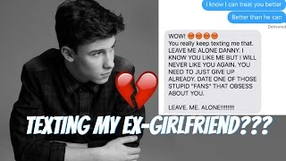 SONG LYRIC TEXT PRANK ON MY EX-GIRLFRIEND??? Treat You Better - Shawn Mendes