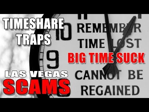 Las Vegas SCAMS #5 Timeshare Traps – How Not To Fall For It!