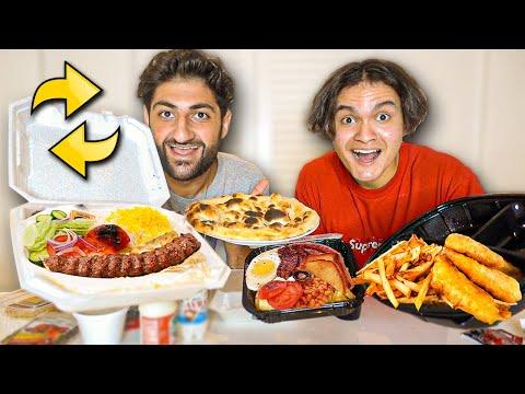 FaZe Jarvis & FaZe Nikan Swap Foods (British & Persian)
