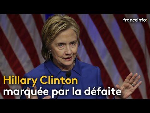 Hillary Clinton après la défaite - franceinfo: