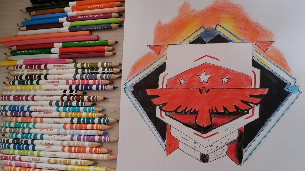 Como Desenhar Símbolo De Mestre Do Free Fire