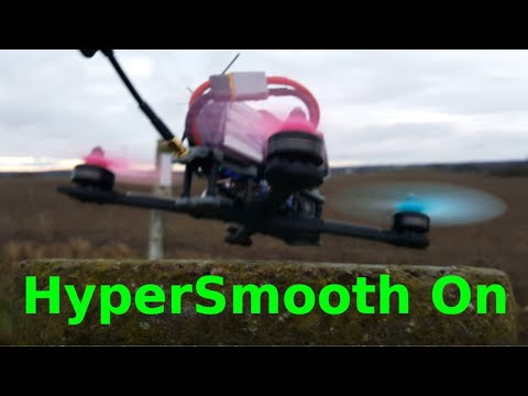 FPV  FREESTYLE with HYPERSMOOTH on and a trash setup