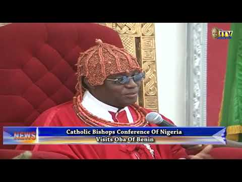 Catholic Bishops visit Oba of Benin