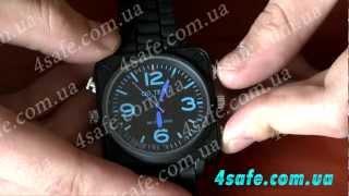 Водонепроницаемые наручные часы с камерой(Купите прямо сейчас: http://www.4safe.com.ua/cat52/SY-IRW-S8 Характеристики: формат видео: avi; видео кодек: M-JPEG; разрешение..., 2012-06-06T13:34:20.000Z)