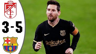 Барселона Гранада 5 3 Обзор Матча 1 4 Финала Кубок Испании 03 02 2021 HD