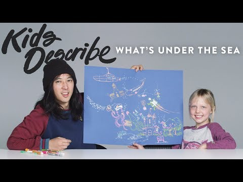 What's Under The Sea | Kids Describe | HiHo Kids